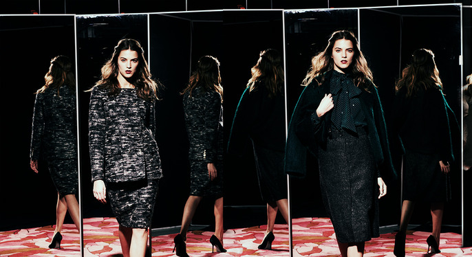 Luxe Fall Dressing at Gilt