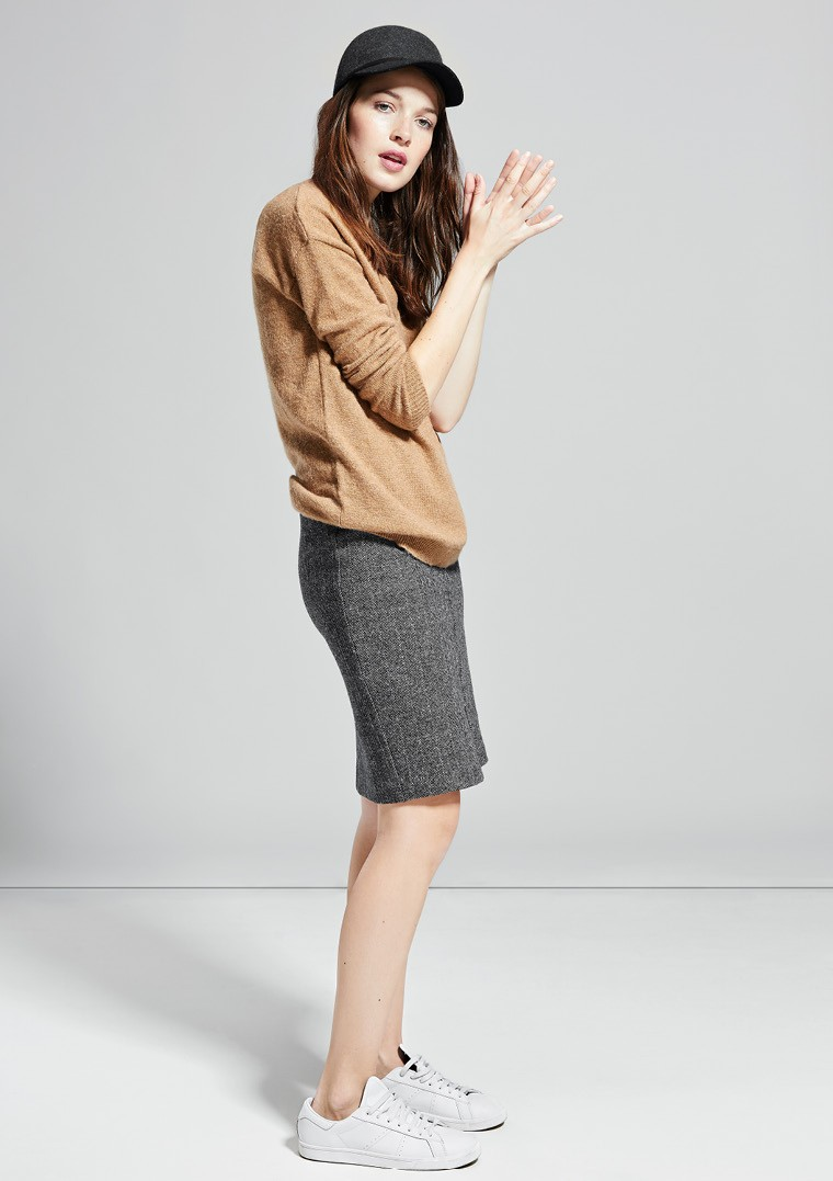 MANGO Alpaca Wool-blend Sweater