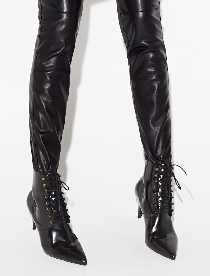 MANGO Heel Lace-up Ankle Boots