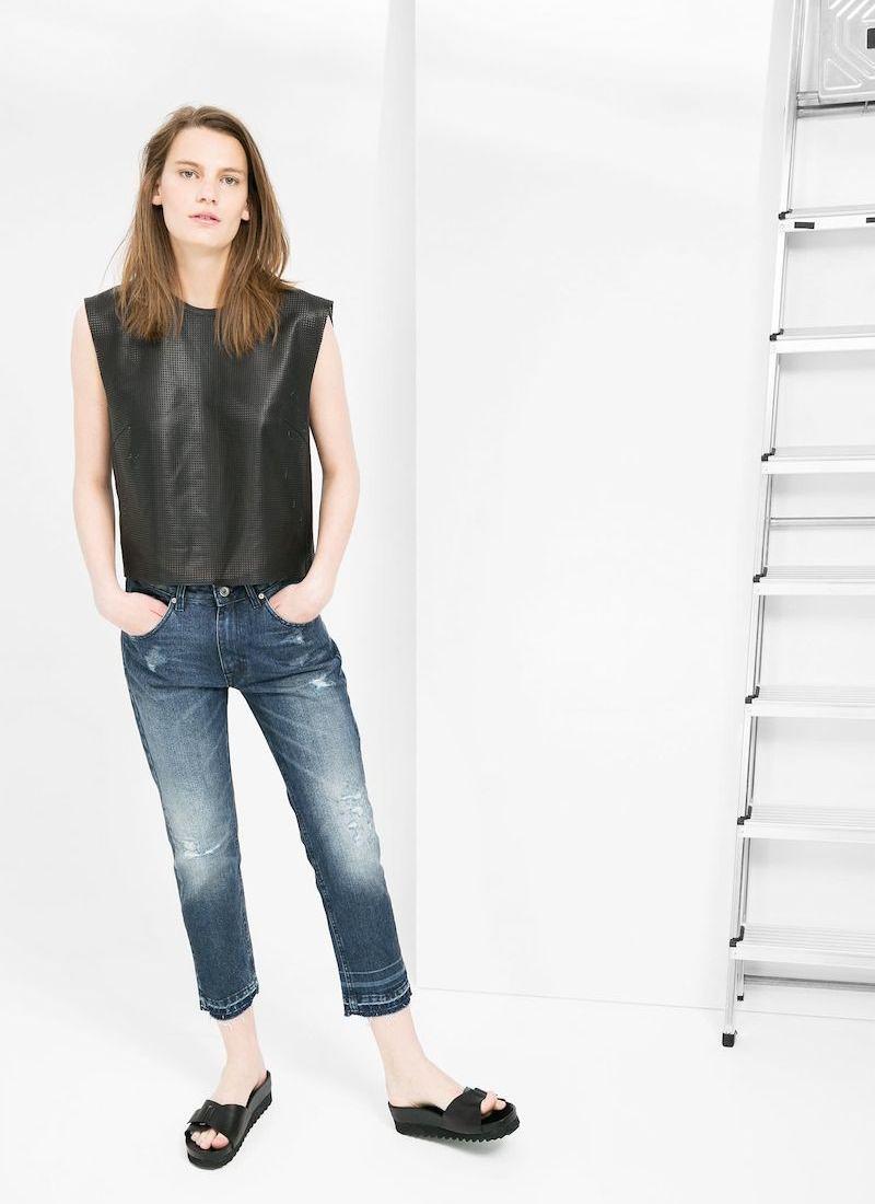 MANGO PREMIUM Boyfriend Lux Jeans