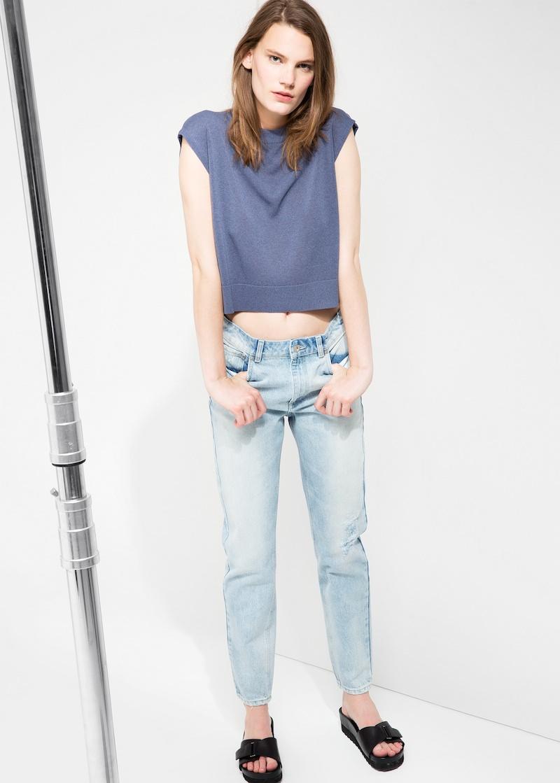 MANGO PREMIUM High-waist Eighty Jeans