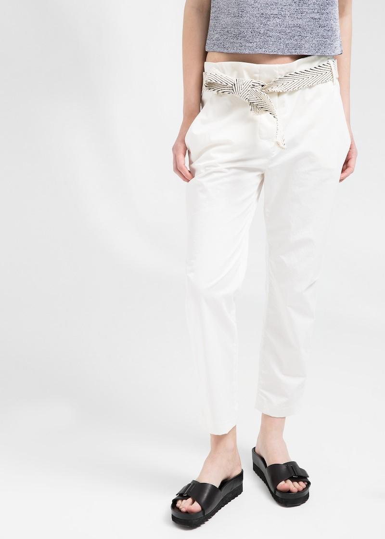 MANGO PREMIUM Kimono-belt Trousers