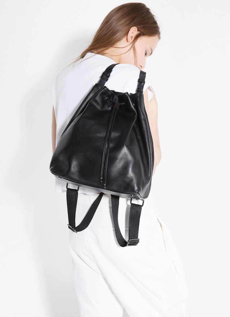 MANGO PREMIUM Leather Backpack