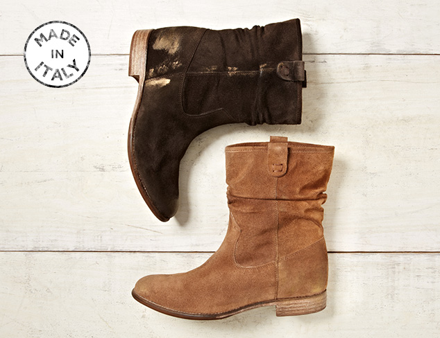 Made in Italy: Boots & more at MYHABIT