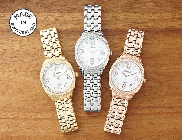 Made in Switzerland: Watches at MYHABIT