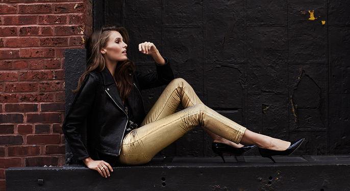 Moto Chic: Leather Jackets, Boots & More at Gilt