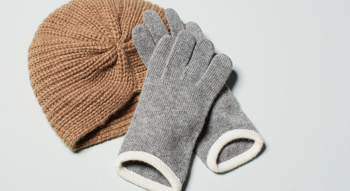 Neutral Cold-Weather Accessories at Gilt