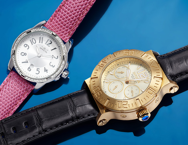 New Arrivals: Invicta Watches at MYHABIT