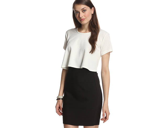 Now Trending: Pencil Skirts & Crop Tops at MYHABIT