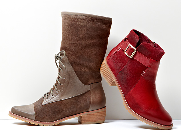 Off-Duty Boots & Booties at MYHABIT