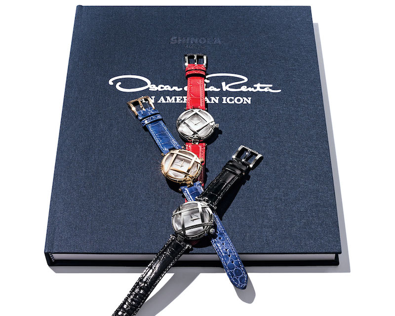 Oscar de la Renta Limited Edition Alligator Lattice Watch