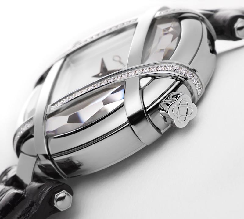 Oscar de la Renta Limited Edition Alligator Lattice Watch_2