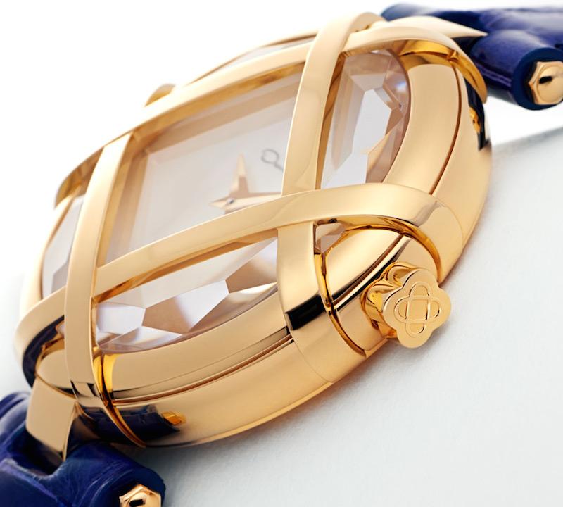 Oscar de la Renta Limited Edition Alligator Lattice Watch_4