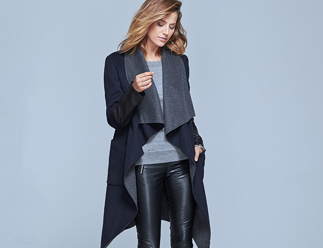 Outerwear feat. BCBG & French Connection at MYHABIT