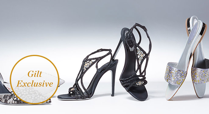 René Caovilla: 80th Anniversary Collection at Gilt