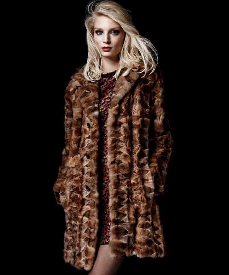 Saint Laurent Leopard Jacquard Mini Dress