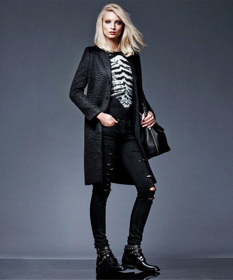 Saint Laurent Long Coat