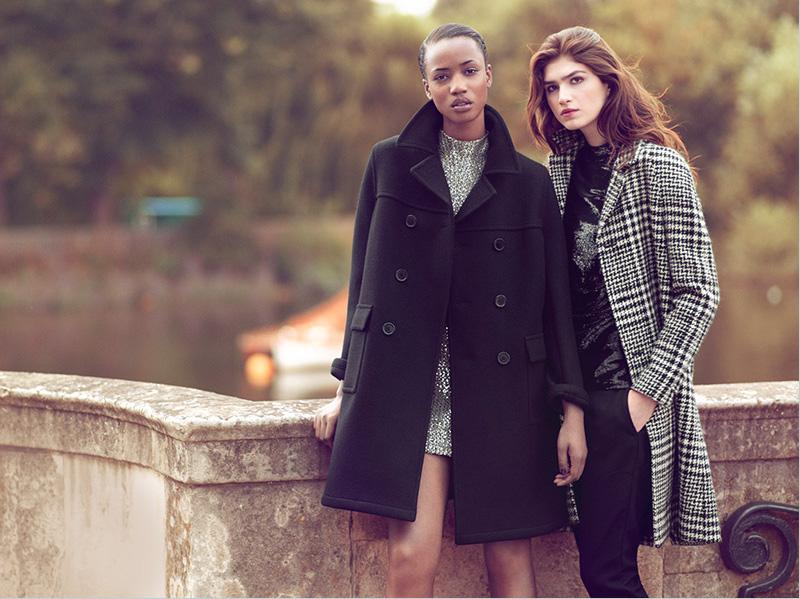 Saint Laurent Raw Wool Pea Coat