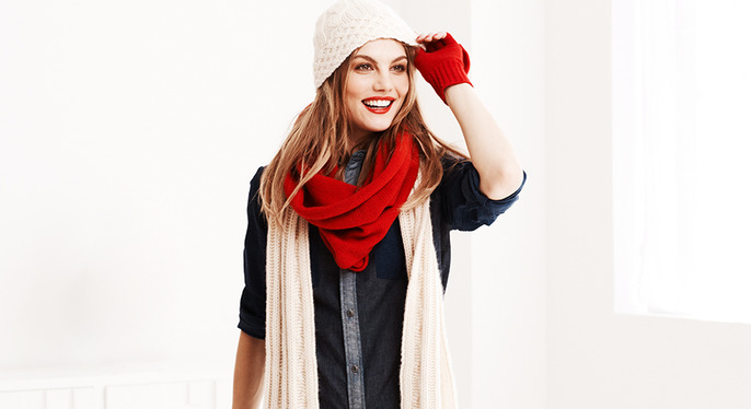 Scarf Season at Gilt