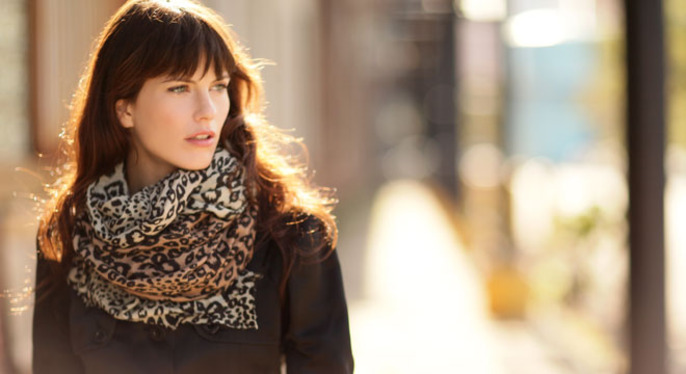 Scarves to Wear Now & Later at Gilt