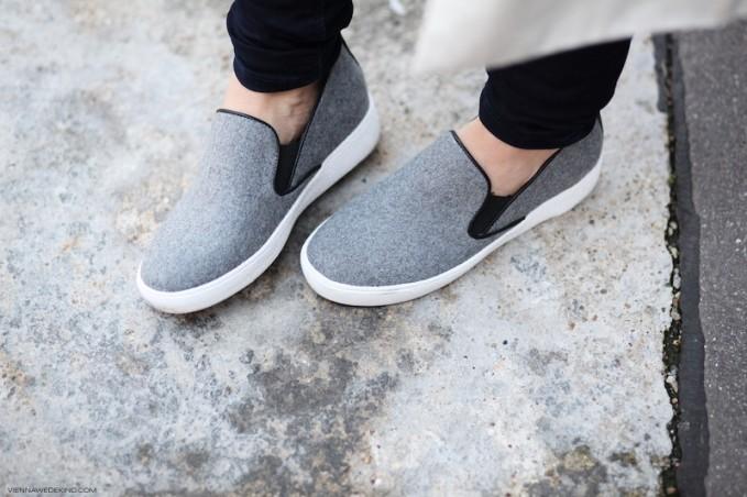 Shellys London Sarazen Leather Sneaker