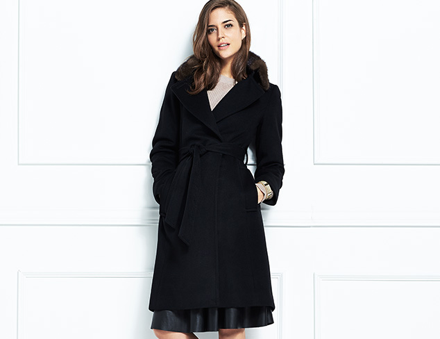 Sofia Cashmere Outerwear at MYHABIT