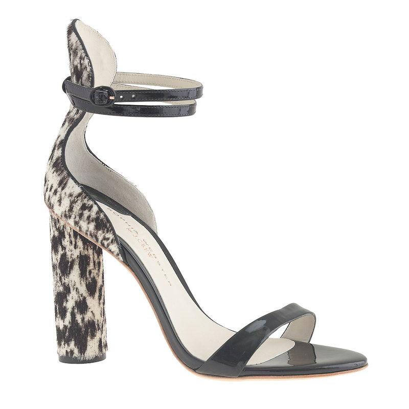 Sophia Webster for J.Crew Nicole Calf Hair Heels