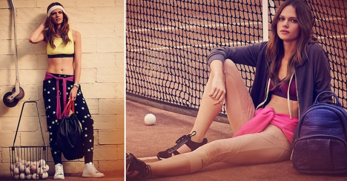 Sport Luxe: Activewear Fashion Trends Lookbook by SHOPBOP
