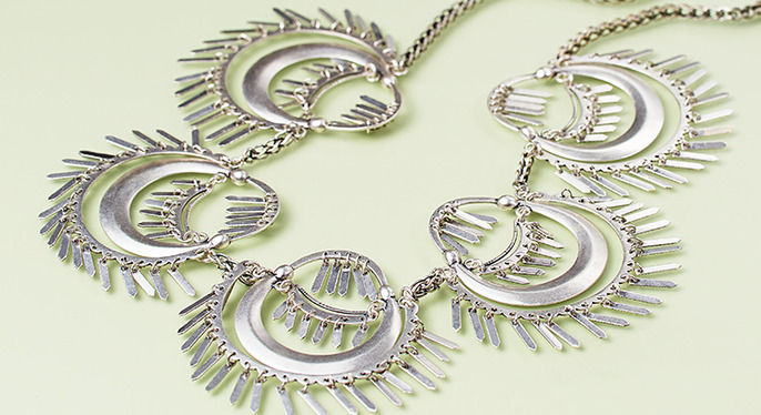 Standout Silver Jewelry at Gilt