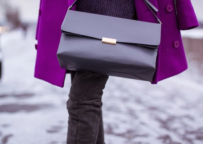 Stella McCartney Beckett Faux Leather Shoulder Bag