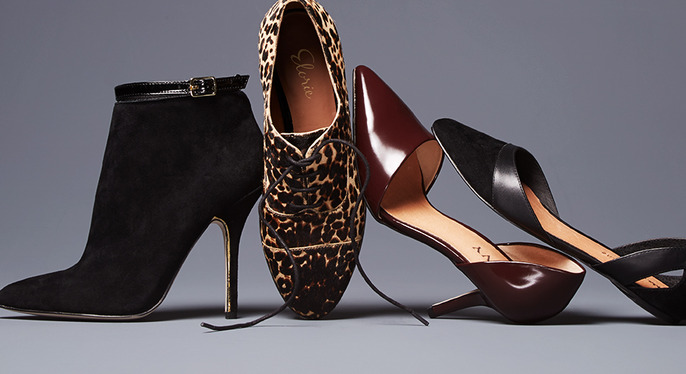 Texture Play: Suede, Ponyhair & More at Gilt