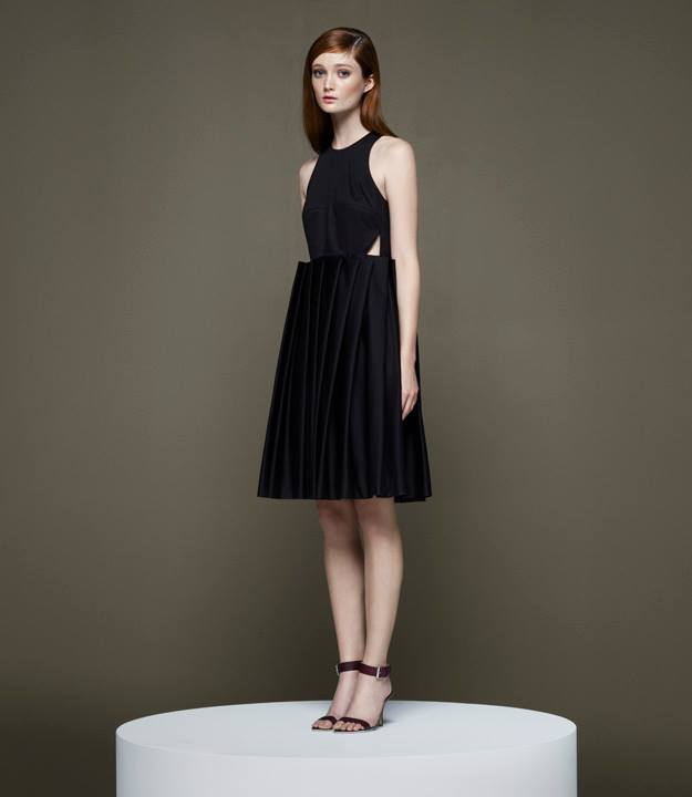 Thakoon x Barneys New York Dimensional Pleat Dress