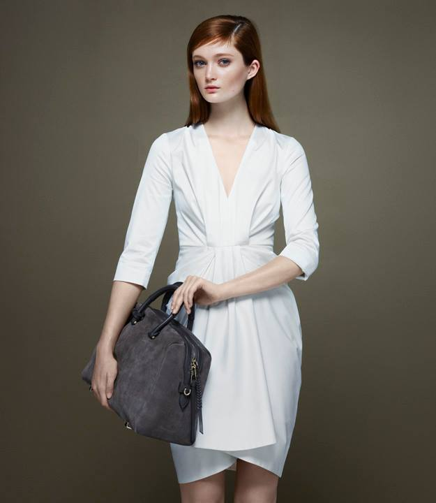 Thakoon x Barneys New York Draped V-neck Dress