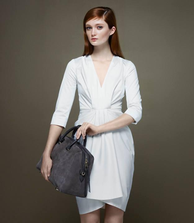Thakoon x Barneys New York Draped V-neck Dress