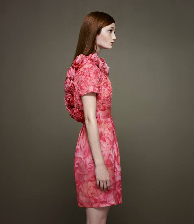 Thakoon x Barneys New York Embellished Peony Dress