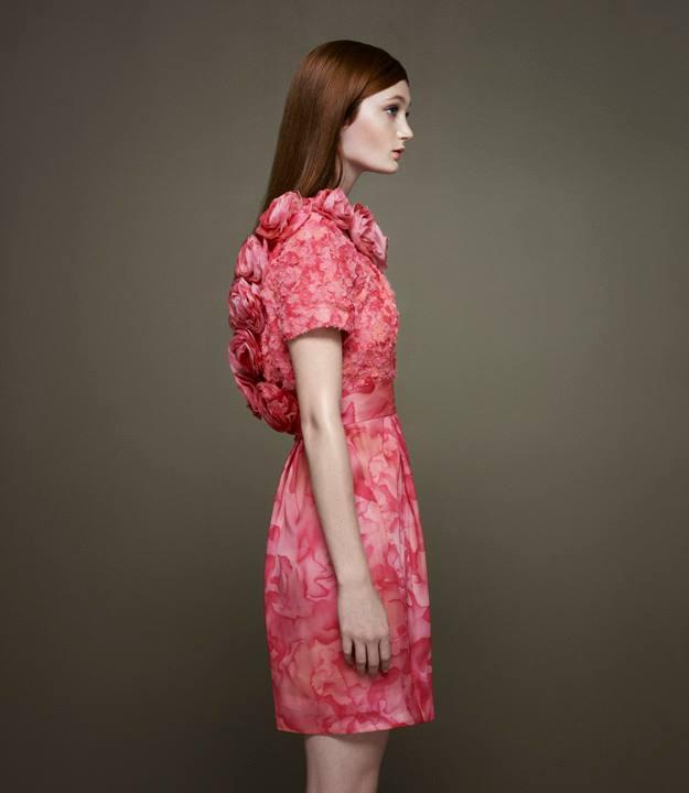 Thakoon x Barneys New York Embellished Peony Dress