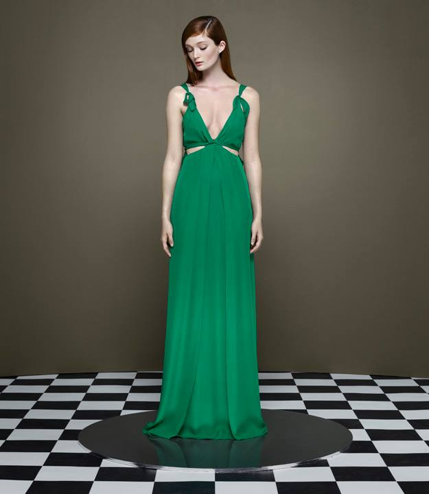 Thakoon x Barneys New York Knotted Cutout Gown