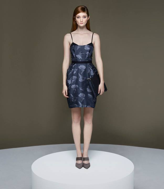 Thakoon x Barneys New York Roses with Legs Cocktail Dress