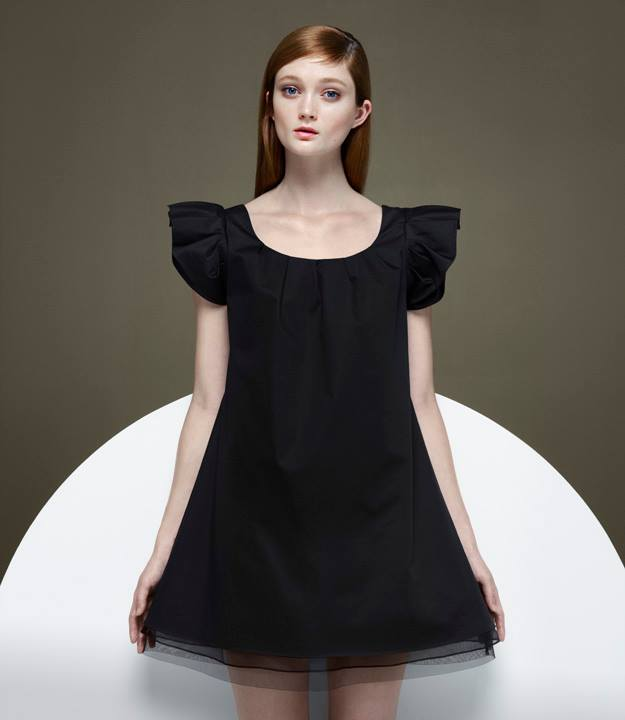 Thakoon x Barneys New York Ruffle-Sleeve A-line Dress