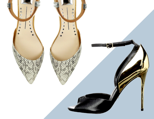 The Ankle Strap: Heels & Flats at MYHABIT