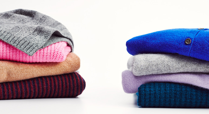 The Cashmere Shop: By Color at Gilt