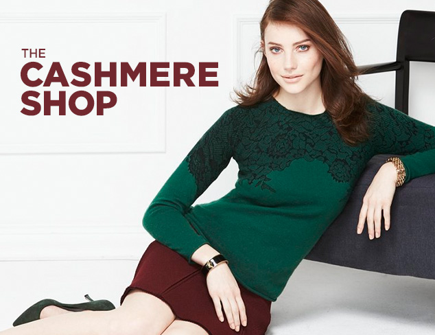 The Cashmere Shop: Kier & J at MYHABIT