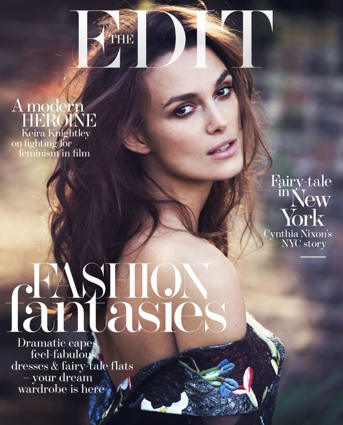 The Heroine: Keira Knightley for The EDIT