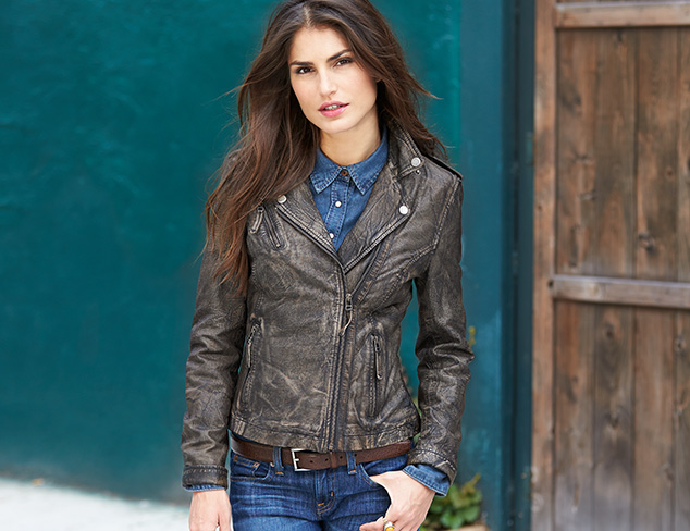 The Leather Jacket at MYHABIT