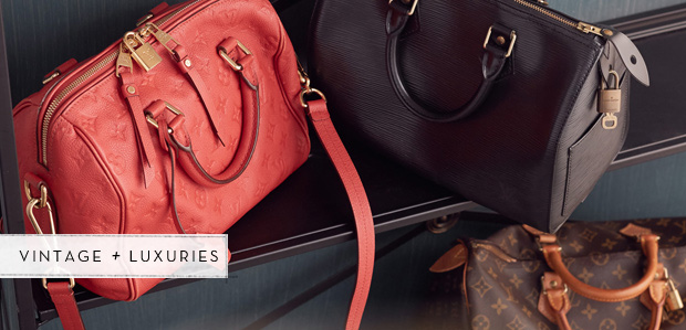 The Louis Vuitton Speedy: From the Reserve at Rue La La