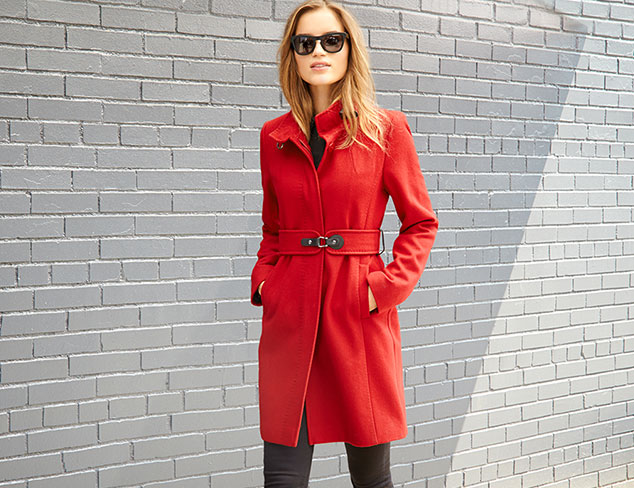 The Perfect Fall Coat at MYHABIT