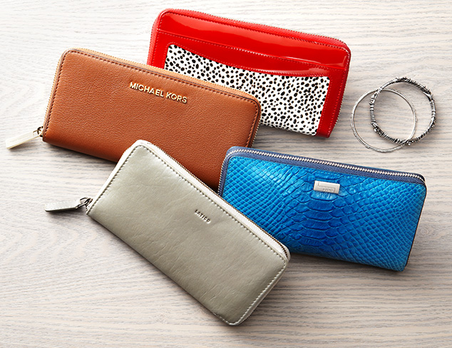 The Zip-Around Wallet at MYHABIT