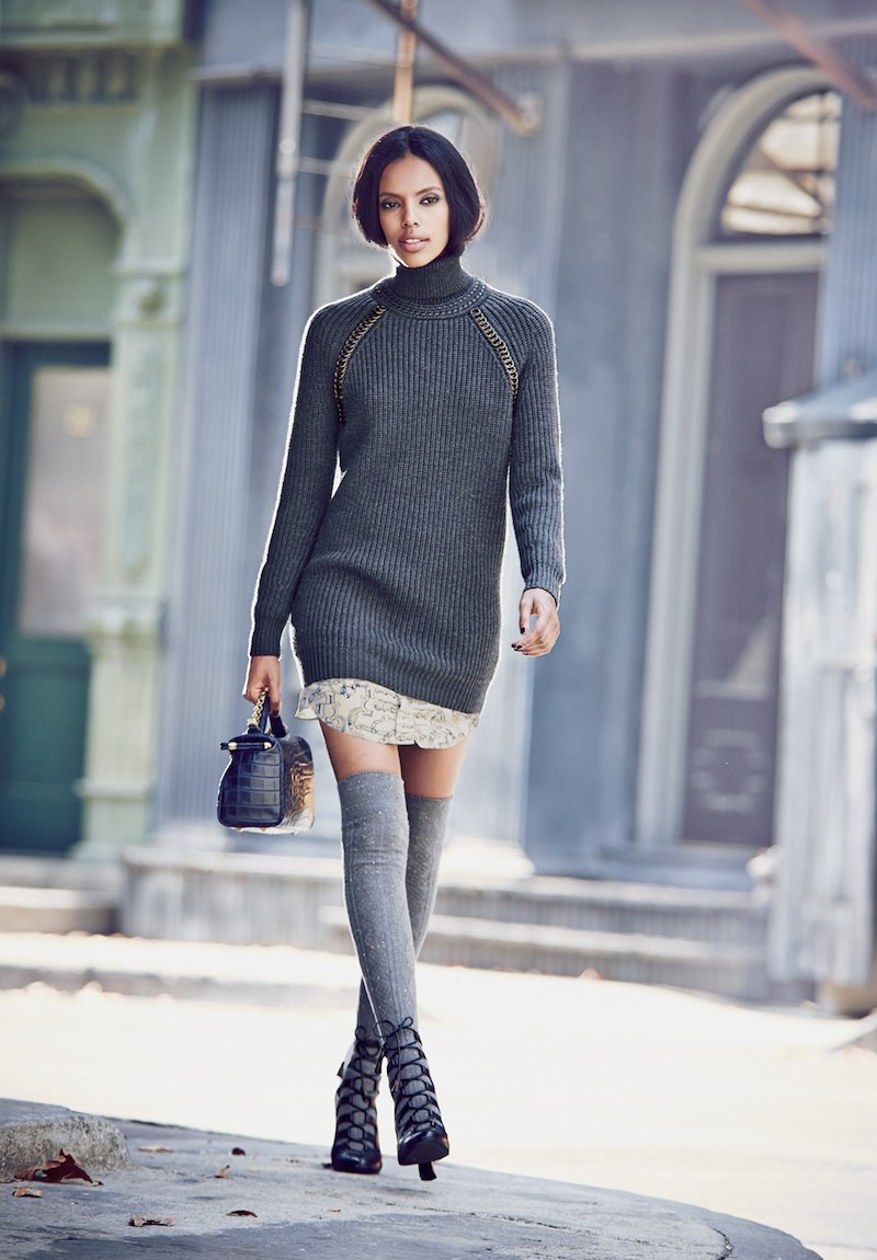 Tory Burch McKenna Turtleneck Sweater Dress