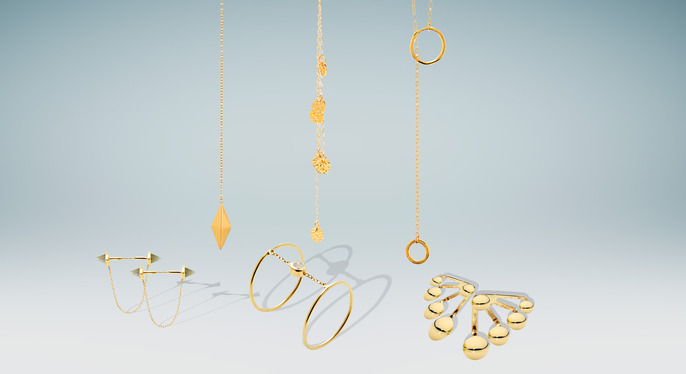 Trending Now: Hand Chains, Lariats & More at Gilt