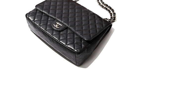 Vintage Chanel Feat. The Double Flap Bag at Gilt
